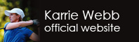 Karrie Webb official website